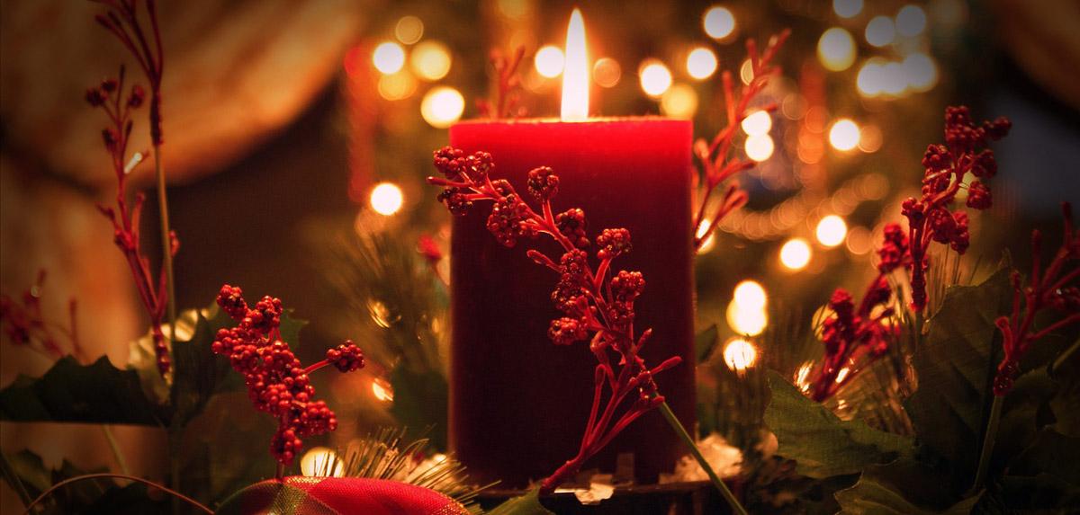 Weihnachtskerzen im Vergleich und Überblick