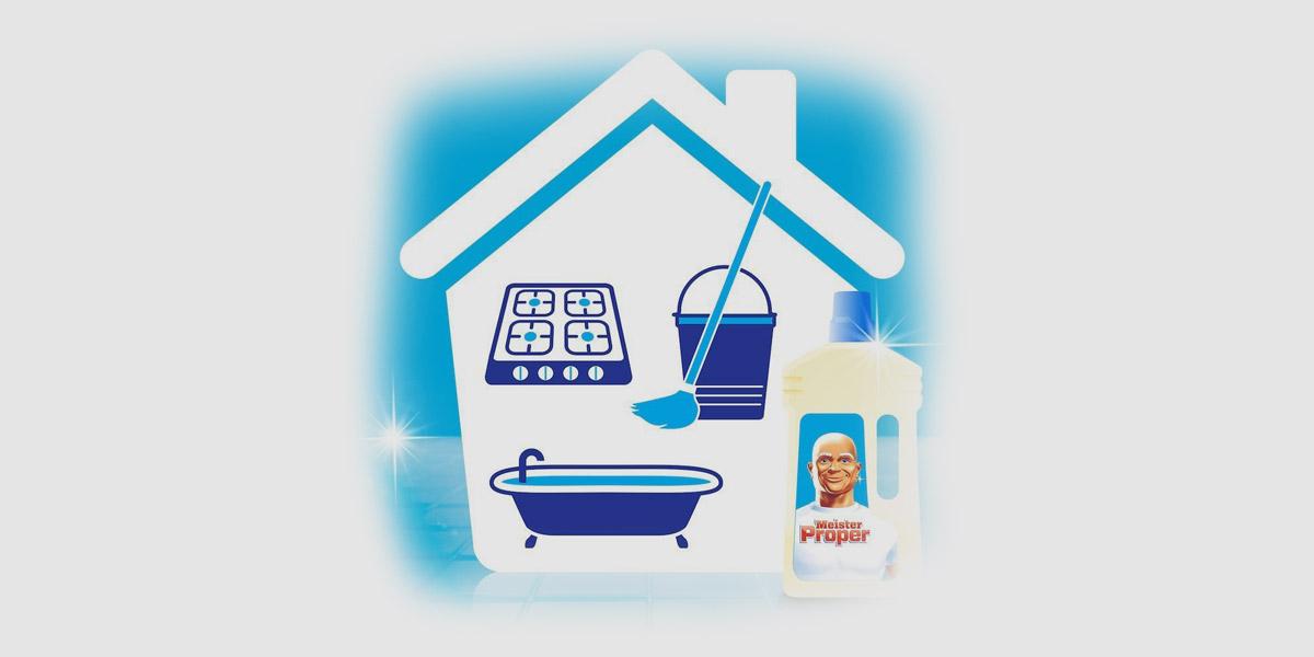 Weiser Proper für alle Reinigungen im ganzen Haus geeignet.