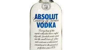 Absolut Vodka Bestseller