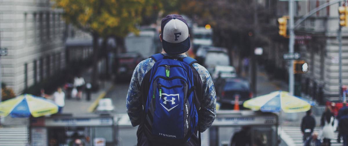 Das beste an der Schule ist der Schulrucksack
