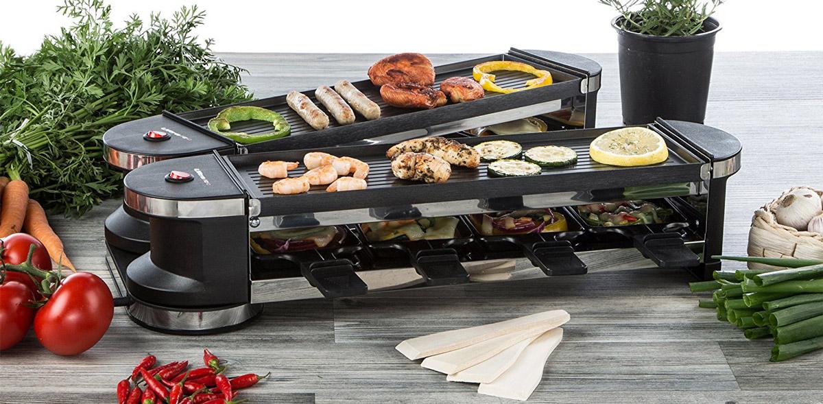 Raclette-Grill für bis zu 8 Personen von Ultratec-Küche