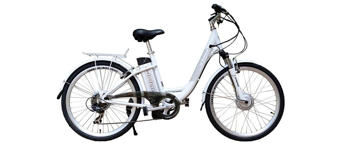 Damenfahrrad E-Bike