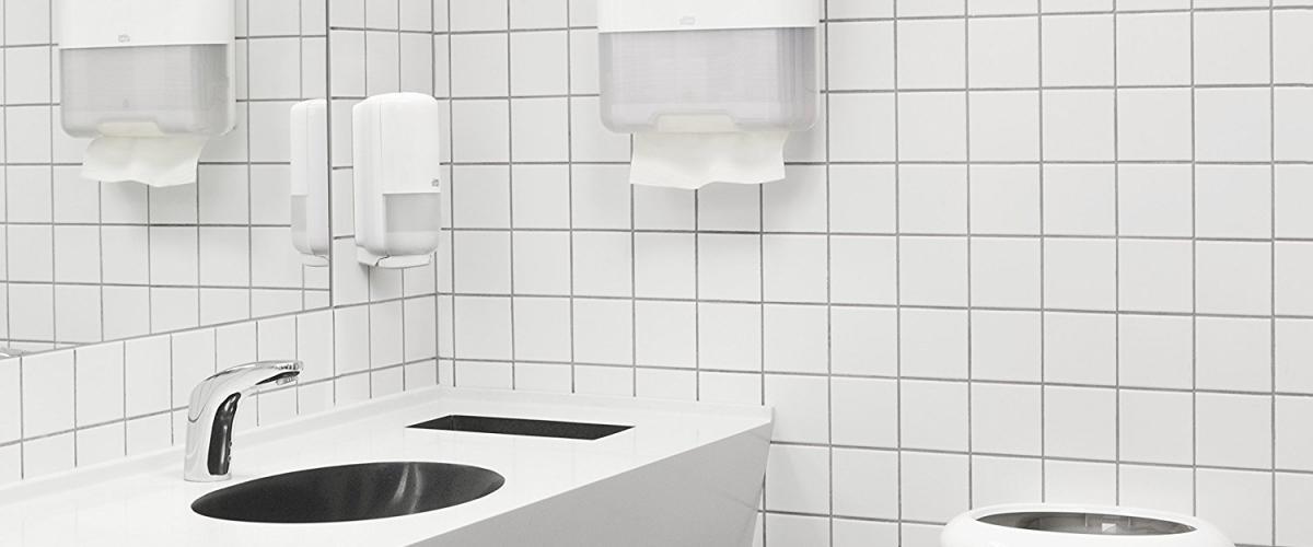 Papierhandtuchspender / Papiertuchspender 553100 Mini Spender von Tork