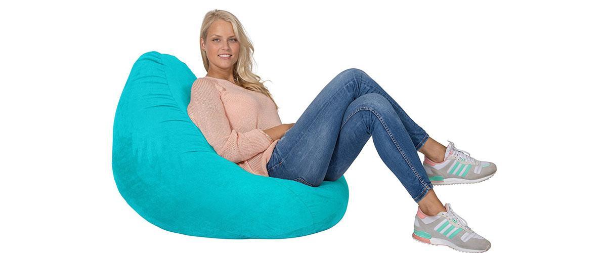 Sitzsäcke im Vergleich - Sitzsack Luxury XL PLUS von Lumaland