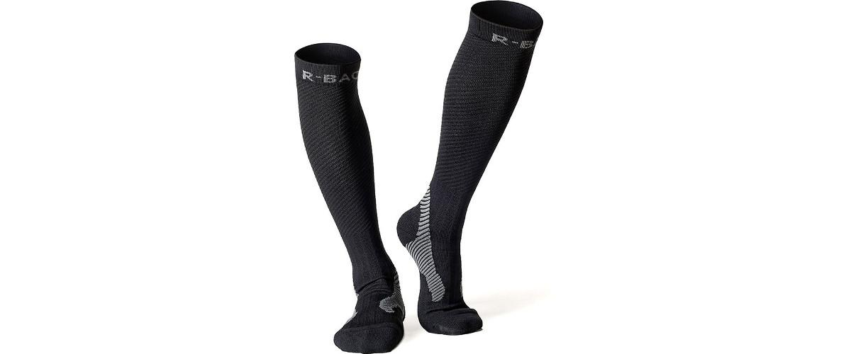 Unisex Medizinische Kompressionsstrümpfe für Herren und Damen von Uvistar, auch als Thrombosestrümpfe Knie, Stützstrümpfe, Sportstrümpfe, Laufsocken, Running Socken bezeichnet
