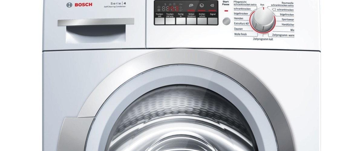 Wärmepumpen-Wäschetrockner WTW86271 von Bosch