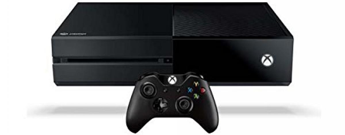 Xbox One Spielekonsole von Microsoft inklusive Controller in schwarz