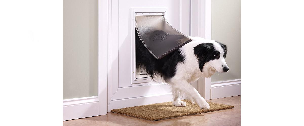 große Hundeklappe / Haustiertür Staywell Aluminium von PetSafe