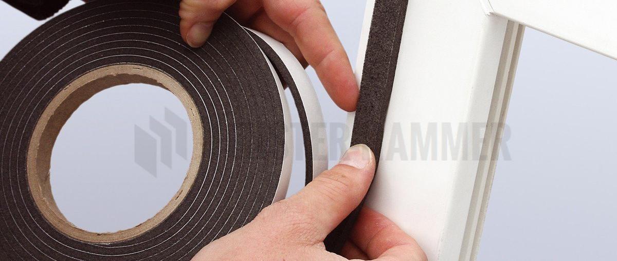 HANNOBAND BG1 Kompriband 10/3-7 Fugendichtband / Quellband / Fensterband / Fugenband von Hanno