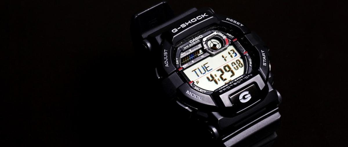 Herren Casio Armbanduhr