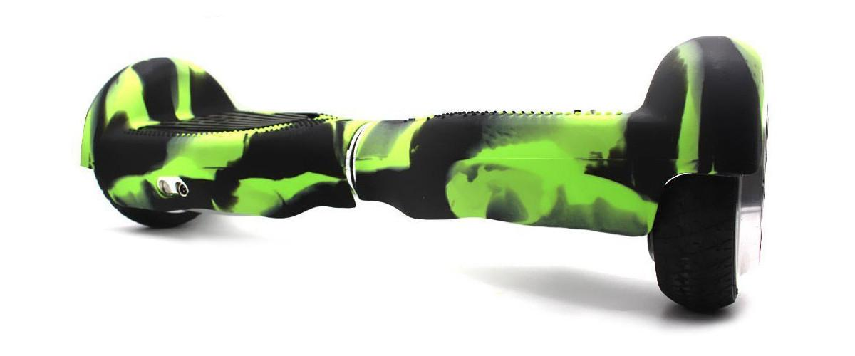 Hoverboard mit Silikon Schutzhülle von Wisamic