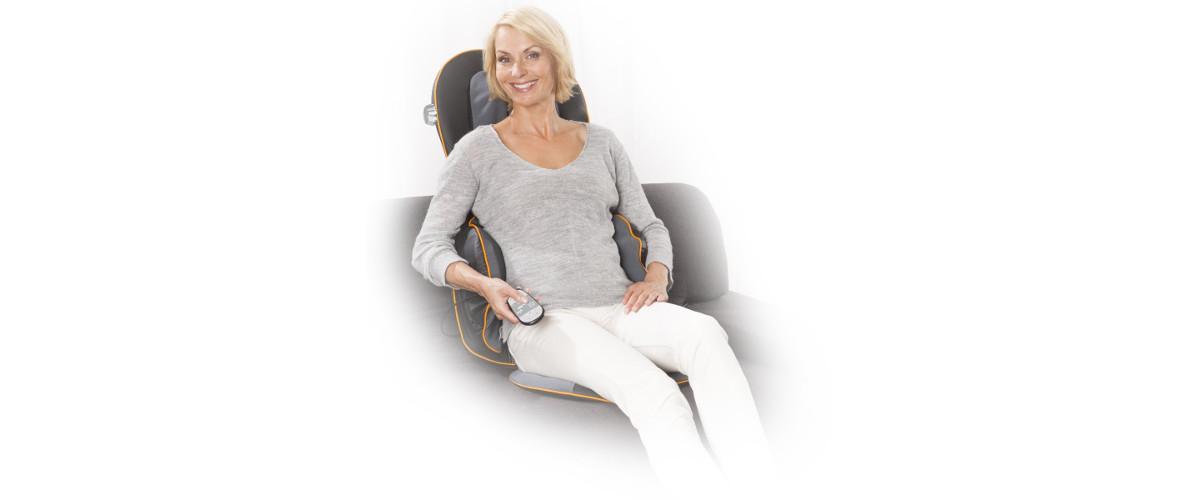 Massageauflage / Massagesitzauflage 88938 von Medisana