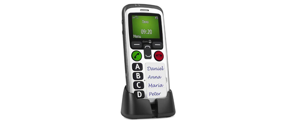 Secure 580 GSM Seniorenhandy / Mobiltelefon von Doro