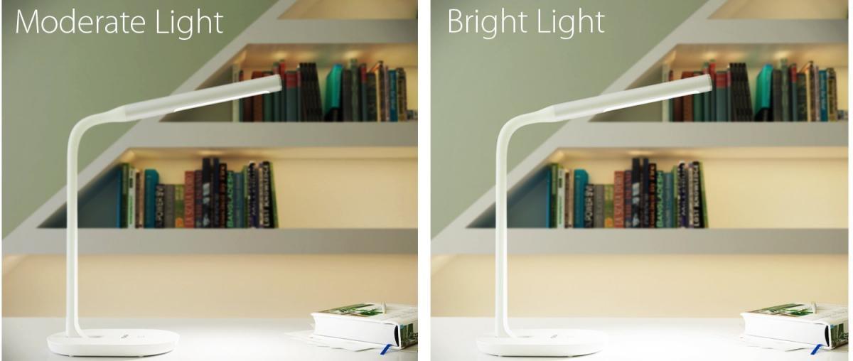 Schreibtischlampe mit USB