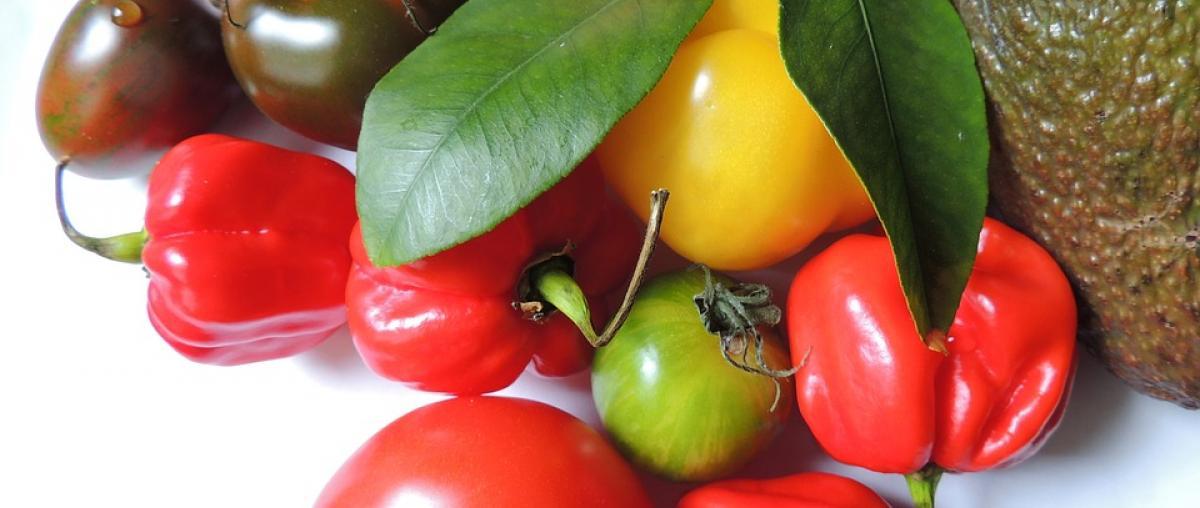 Chillis und anderes Gemüse