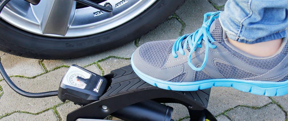 Fußluftpumpe Tipps und Vergleich