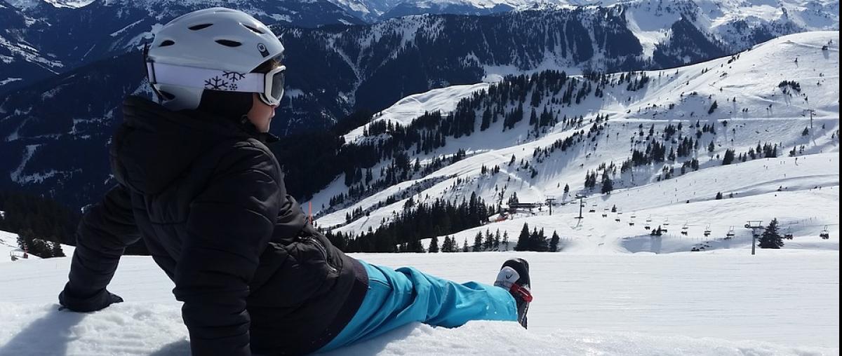 Ski Landschaft