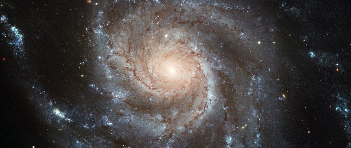 Spiralgalaxie Messier 101 (bzw. Ngc 5457) im Sternbild Großer Bär
