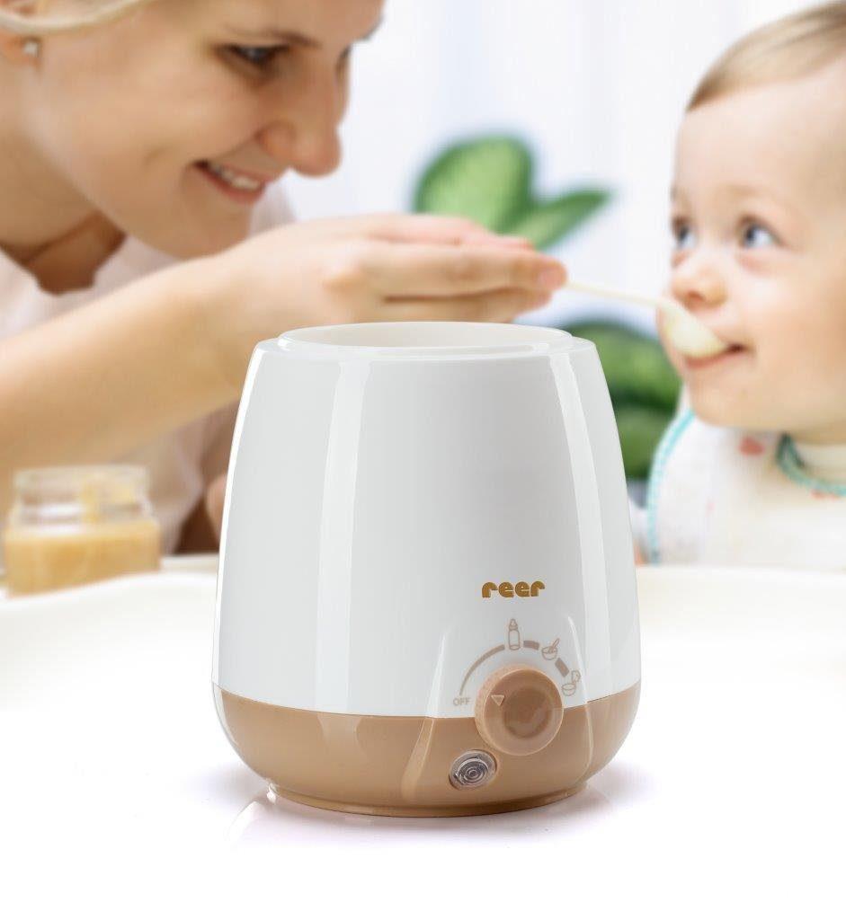 Reer Babykostwärmer: für Babykostgläschen, Standard-und Weithalsflaschen - ideal für alle Nahrungsbehälter mit einem Durchmesser von bis zu 70mm