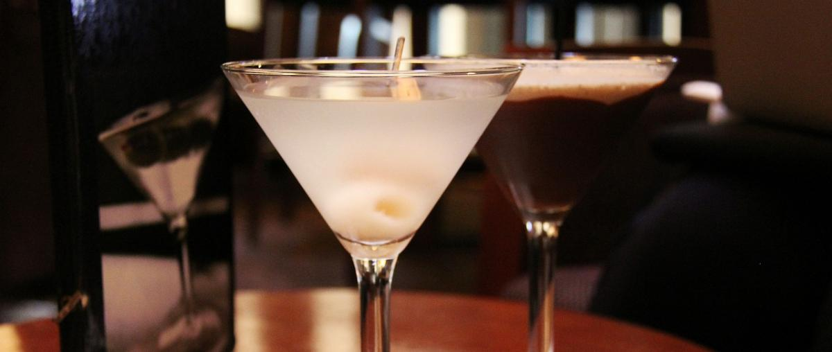 Martini im Glas