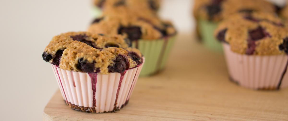 Muffins in Silikonförmchen