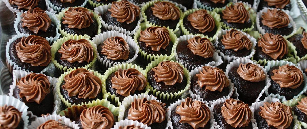 Schokolanden Muffins mit Frosting