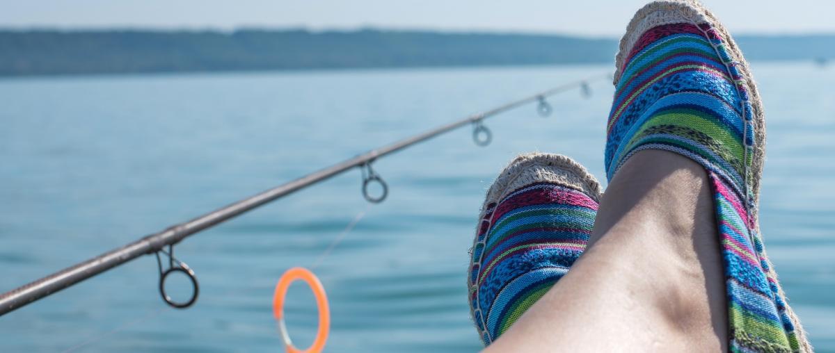 Fischen auf dem Angelboot!