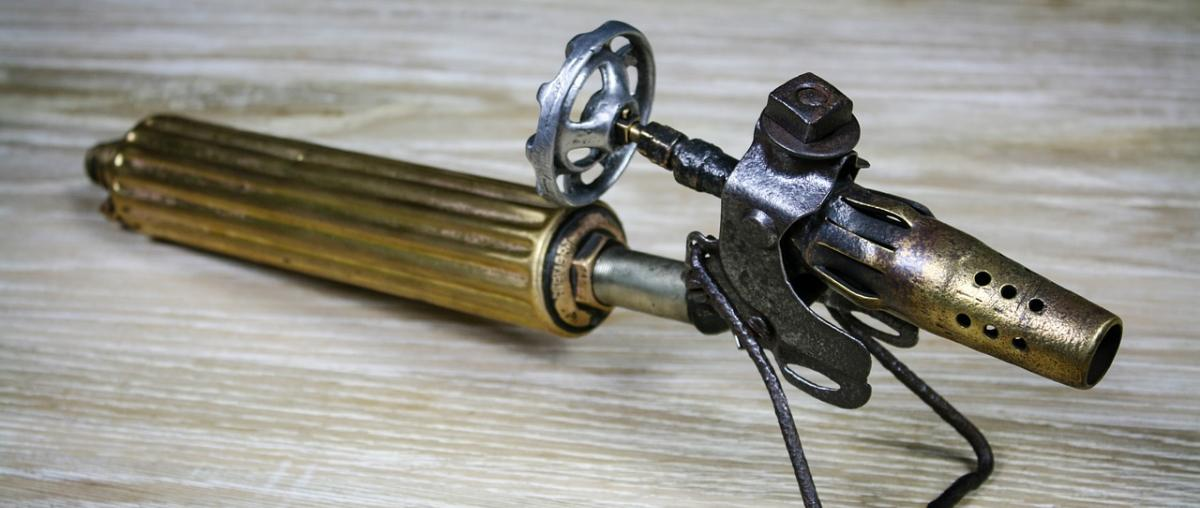 Gasbrenner-Beispiel