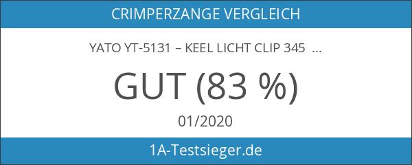 Yato yt-5131–Keel Licht Clip 345mm