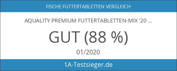 AQUALITY PREMIUM Futtertabletten-MIX '20 Sorten' 500 ml