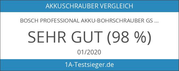 Bosch Professional Akku-Bohrschrauber GSR 18-2 LI blau