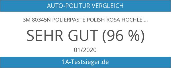 3M 80345N Polierpaste Polish Rosa Hochleistungswachs