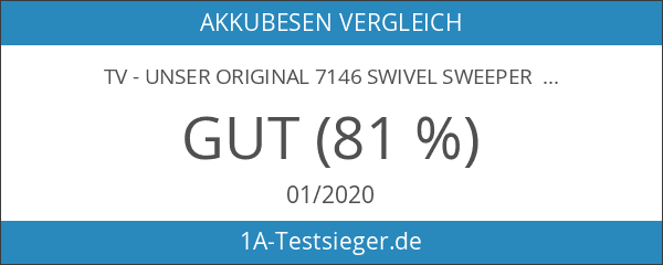 TV - Unser Original 7146 Swivel Sweeper G2 mit Ellenbogengelenk