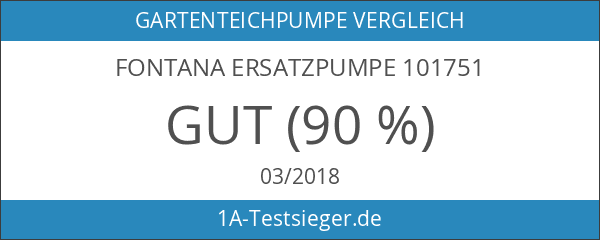 Fontana Ersatzpumpe 101751