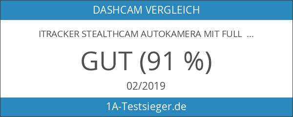 iTracker Stealthcam Autokamera mit Full HD Dashcam