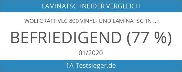 Wolfcraft VLC 800 Vinyl- und Laminatschneider