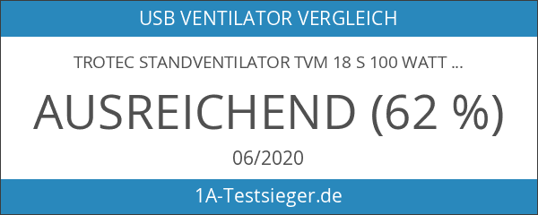 TROTEC Standventilator TVM 18 S 100 Watt Leistung Durchmesser 43