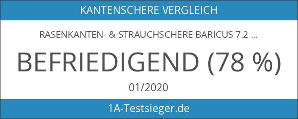Rasenkanten- & Strauchschere Baricus 7.2V B-WARE