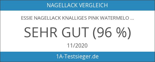 essie Nagellack Knalliges Pink watermelon Nr. 27