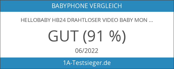 HelloBaby HB24 Drahtloser Video baby Monitor mit Digitalkamera