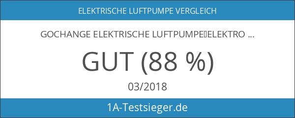 GOCHANGE Elektrische Luftpumpe,Elektropumpe inkl. 3 Aufsätze für Luftmatratzen