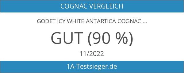 Godet Icy White Antartica Cognac