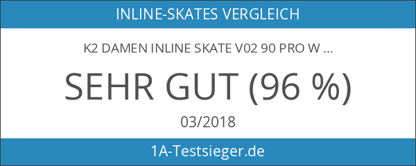K2 Damen Inline Skate V02 90 Pro W