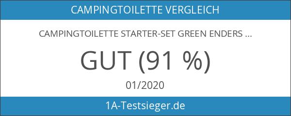 Campingtoilette Starter-Set Green Enders Comfort [ 4944 ]: inkl. Sanitärflüssigkeit