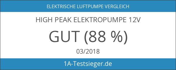 High Peak Elektropumpe 12V