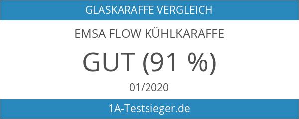 EMSA 505219 Kühlkaraffe FLOW Karaffe Glas