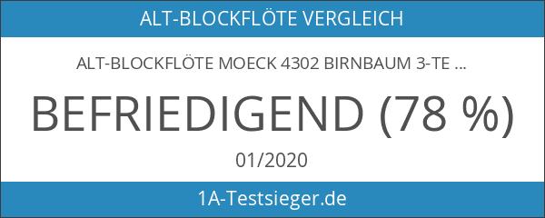 Alt-Blockflöte MOECK 4302 Birnbaum 3-teilig