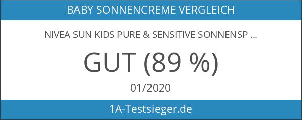 Nivea Sun Kids Pure & Sensitive Sonnenspray LSF 50+