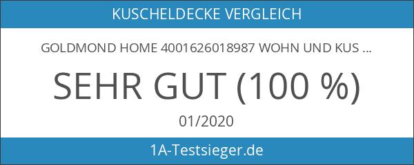Goldmond Home 4001626018987 Wohn und Kuscheldecke
