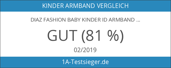 Diaz Fashion Baby Kinder ID Armband